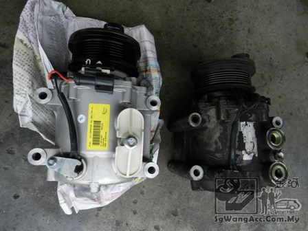 air cond compressor (new, old)